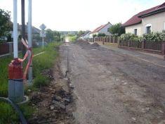 Rekonstrukce komunikace v Komárov