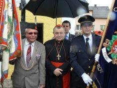 Kardinál Dominik Duka v Komárově